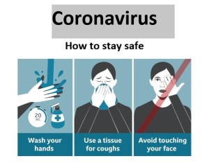 Corona Virus - Stay Safe